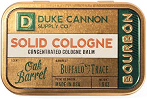 Solid Cologne Bourbon
