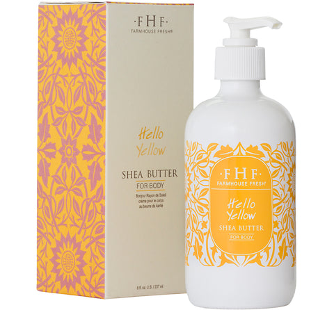 Hello Yellow Shea Butter Cream - Pump Top