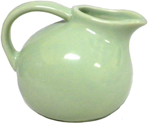 Small Round Stoneware Pitcher
