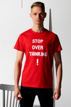 Load image into Gallery viewer, Basic T-shirt with stamp - Red - PLM T-Shirts