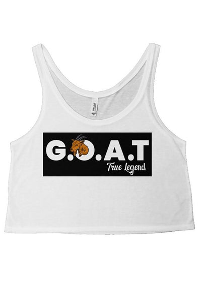 WOMENS GOAT-CROP TOP WHITE