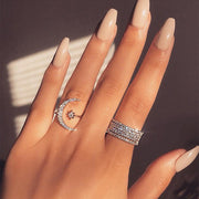 Star & Moon Ring - Trendmart