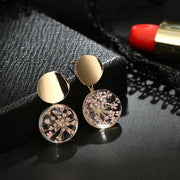 Pink Dried Earrings - Trendmart
