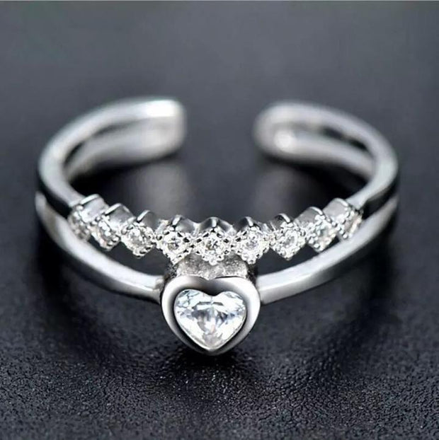 Stunning Cupid Heart Ring - Trendmart