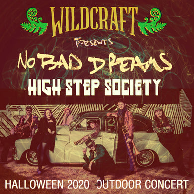 HIGH STEP SOCIETY w/ Wax Poetry Revue - HALLOWEEN 2020
