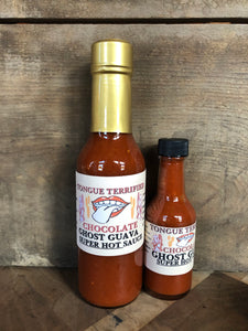 Chocolate Ghost Guava Super Hot Sauce