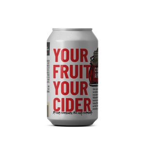 Your Fruit Your Cider - 4pack of 12oz cans