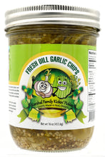 Load image into Gallery viewer, Fresh Dill Garlic Pickle Chips