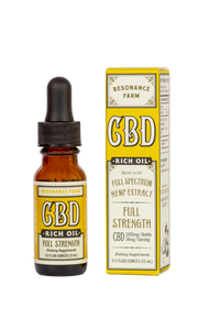 CBD Rich Oil - Full Strength Formula