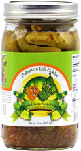Load image into Gallery viewer, Kickin' Habañero Dill Pickles