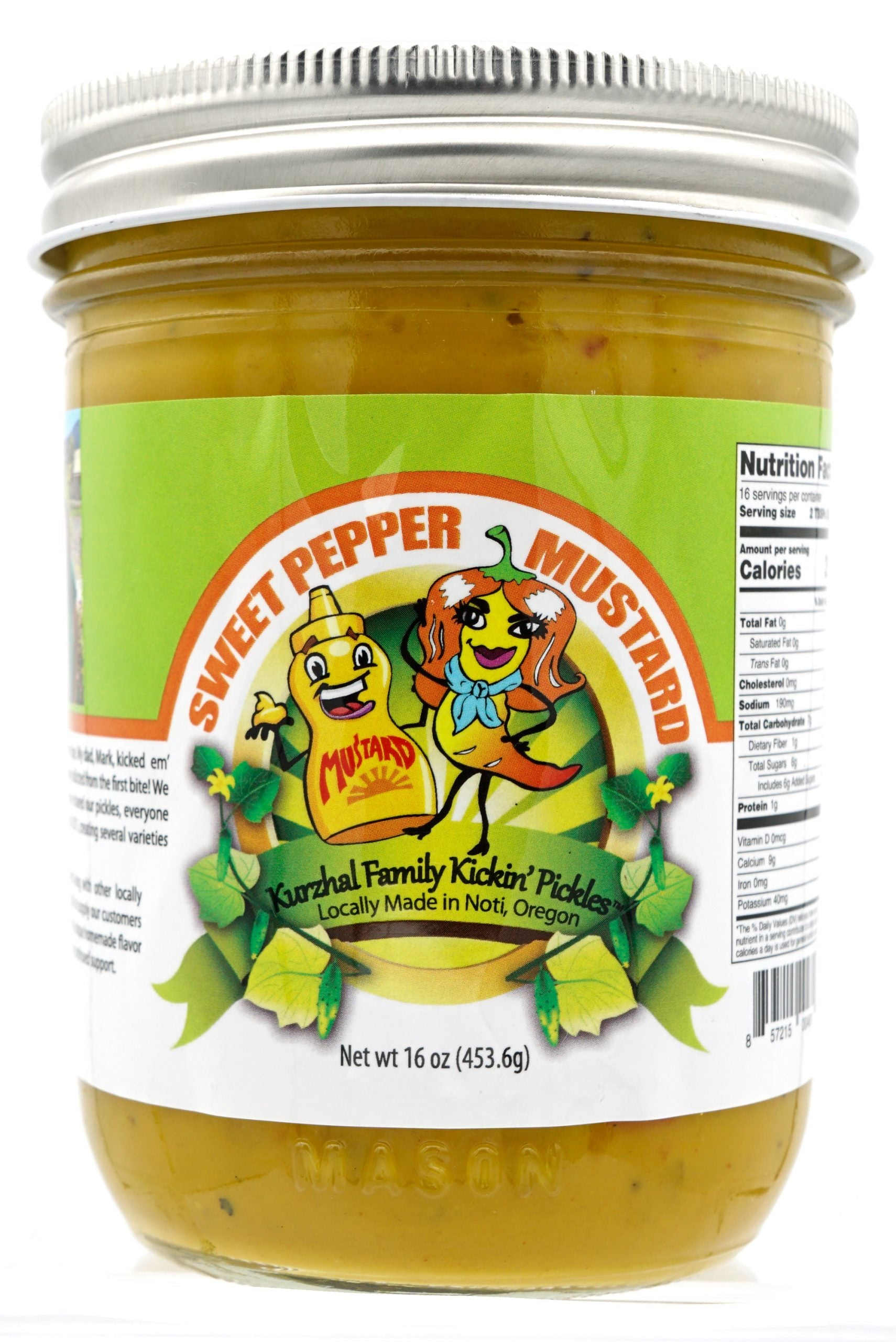 Sweet Pepper Mustard