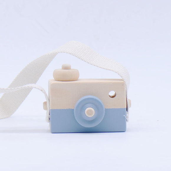 Wooden Mini Hanging Camera