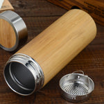 Bamboo Tea Infuser Travel Mug
