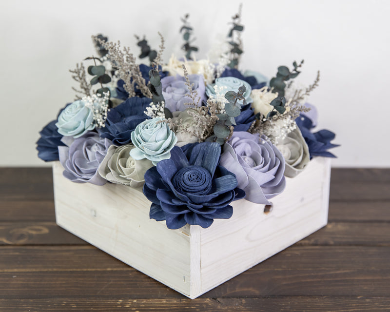 Midnight Frost Centerpiece
