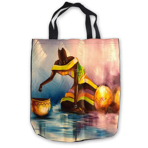 Afro Art Tote Bag