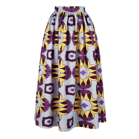 Royal Print Skirt