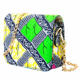 Afro Print Shoulder Bag
