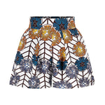 Afro Flower Print Short & Top