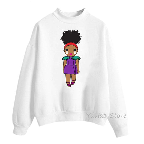 Black Girl Tribe Melanin Poppin Sweatshirt