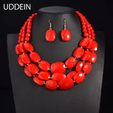 Beads Jewelry Necklace Set