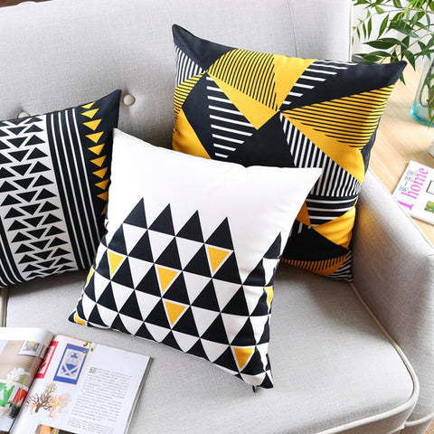 Decorative African Print Sofa Pillowcase