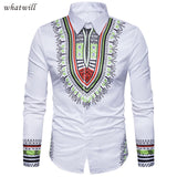 Long Dashiki Shirt