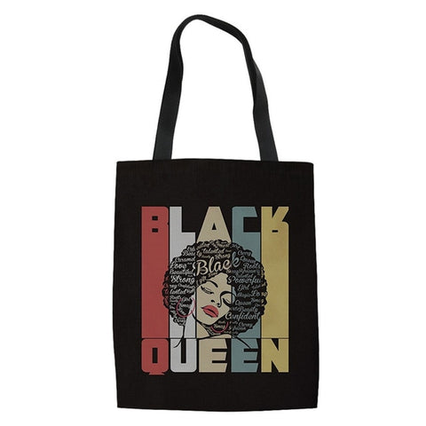 Black Girl Magic Tote Shopping Bag