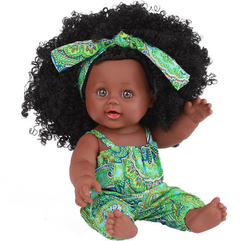 Black Girl Magic African Dress Doll