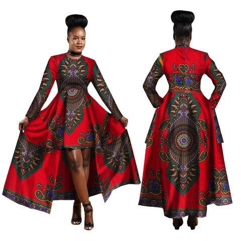 Dashiki Long Dress