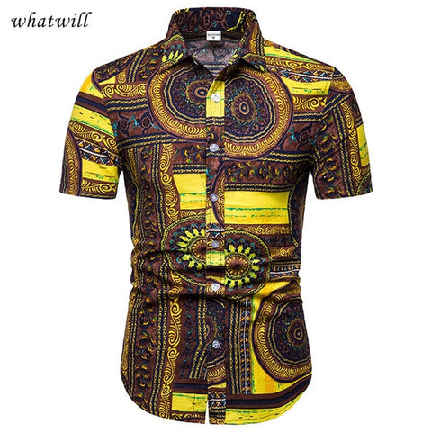 African Sugar Boy Dress Shirt