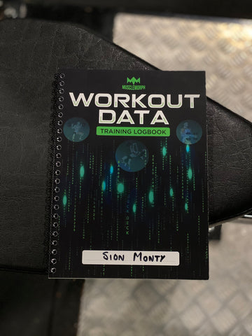Image of WORKOUT DATA LOG BOOK