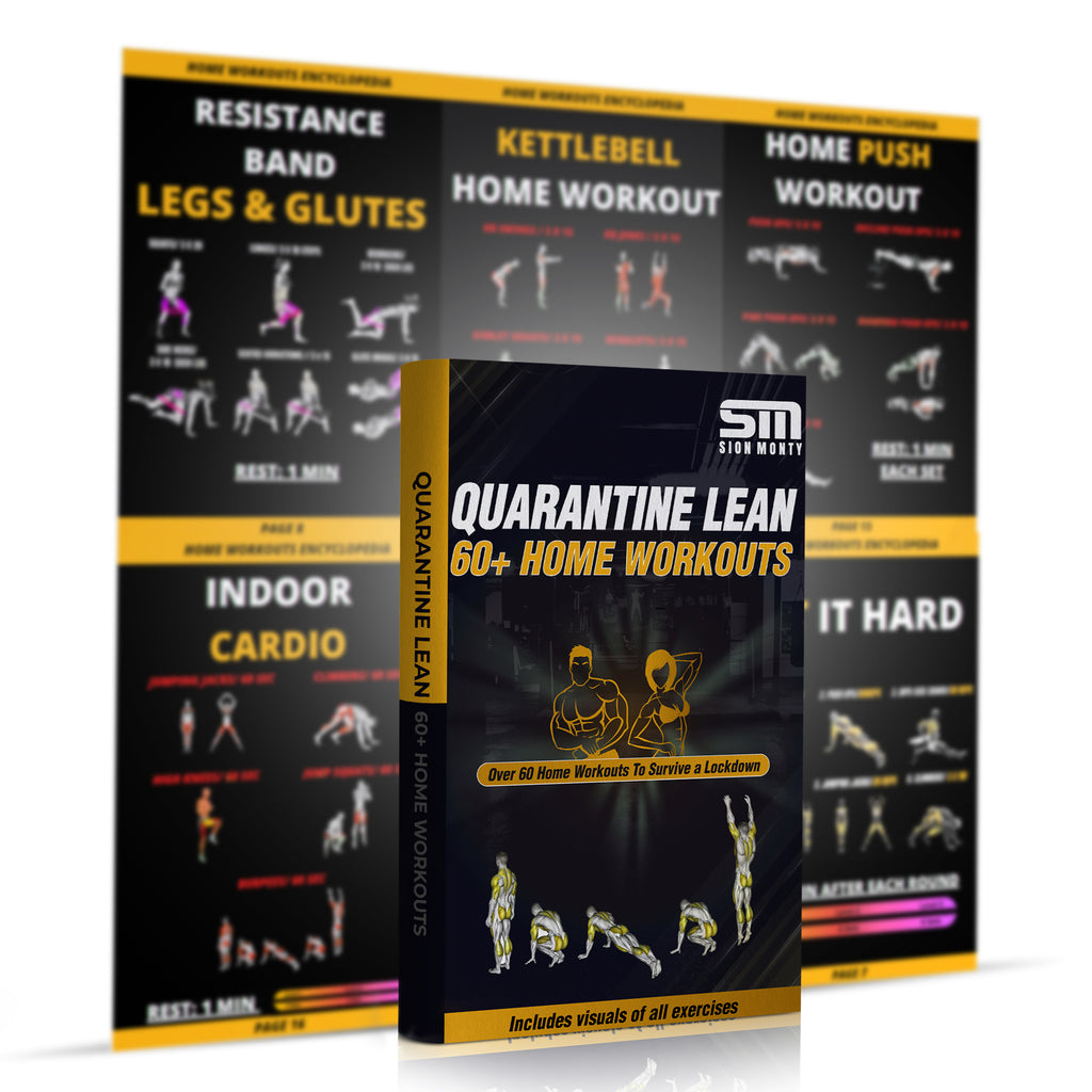 60+ WORKOUTS GUARANTEED TO TRANSFORM YOUR BODY FROM HOME (INSTANT DOWNLOAD)
