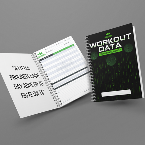 WORKOUT DATA LOG BOOK