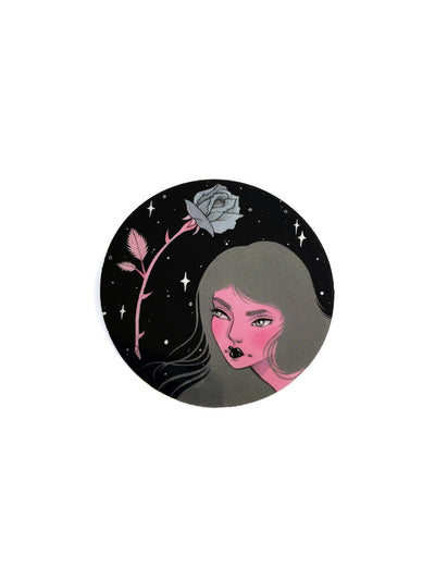 Cosmic Rose Sticker