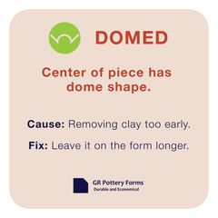 Warping type: Domed