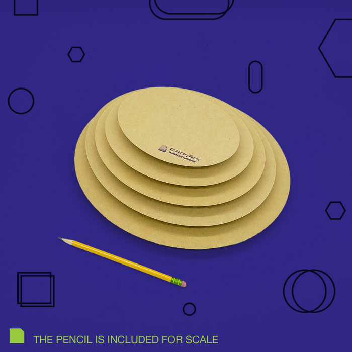 Oval - Stack pack (5 piece)