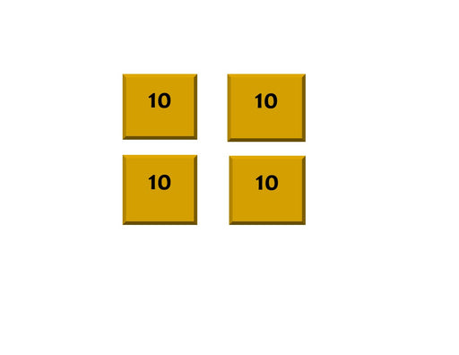 "Slim Square - 10"" (4 Pack)"
