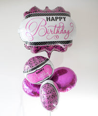 Balloon Birthday Silver