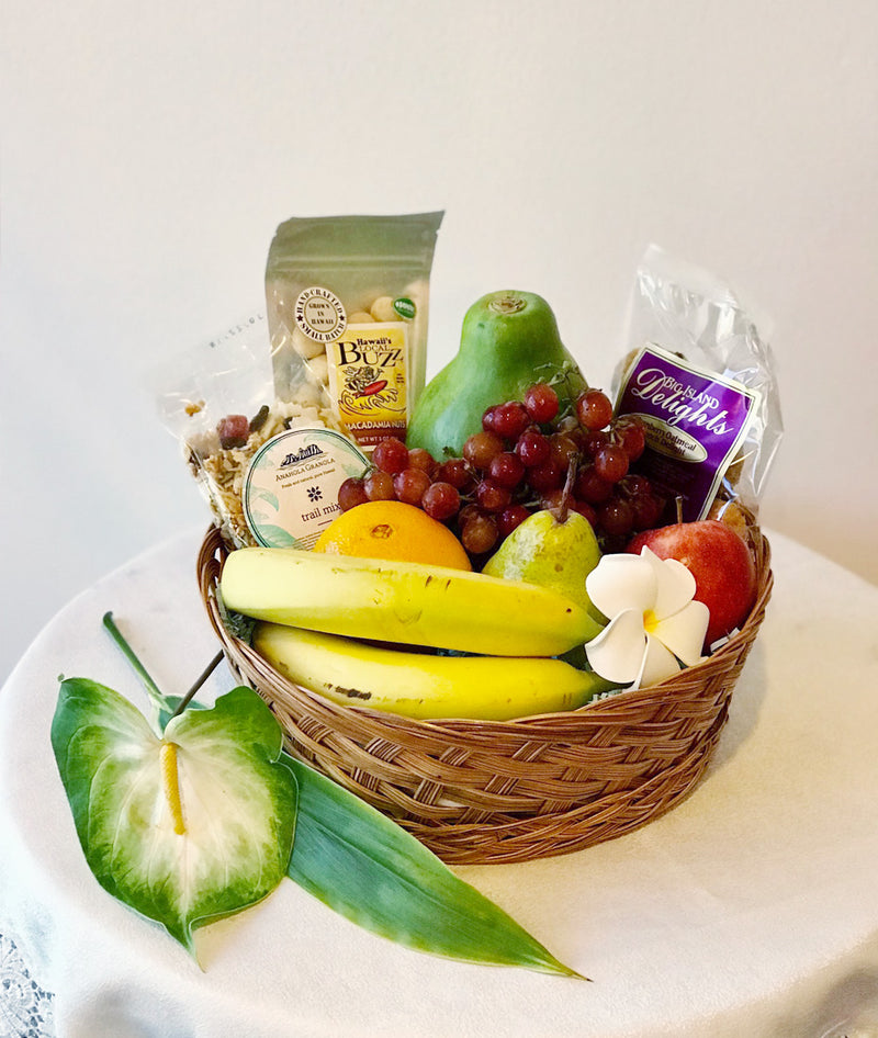 Healthy Hawaiian Basket w/ Fresh Fruit