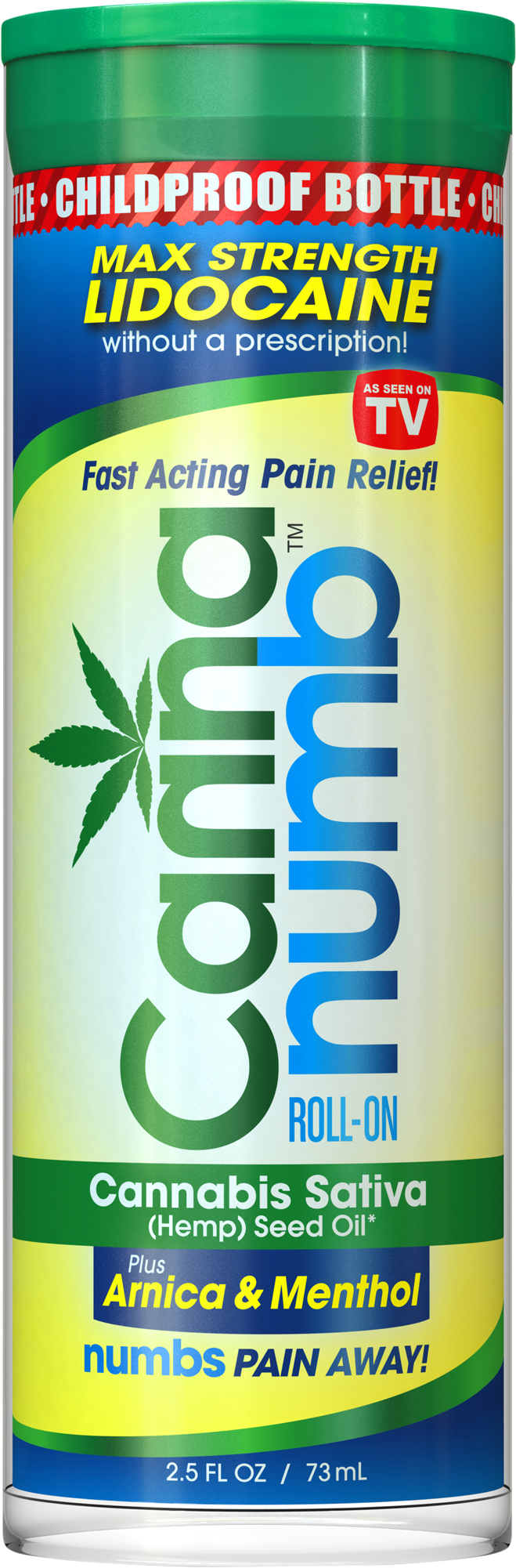 Cannanumb Fast Acting Pain Relief Roll-On