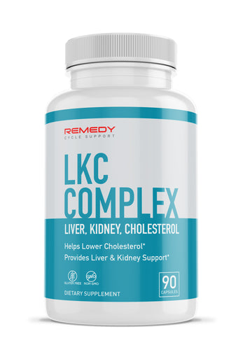Liver, Kidney & Cholesterol Complex - Block Cholesterol & Support Liver + Kidneys
