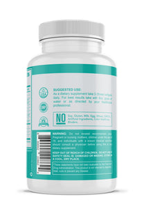 Fish Oil - 1200mg EPA, 900mg DHA per dose. Odorless