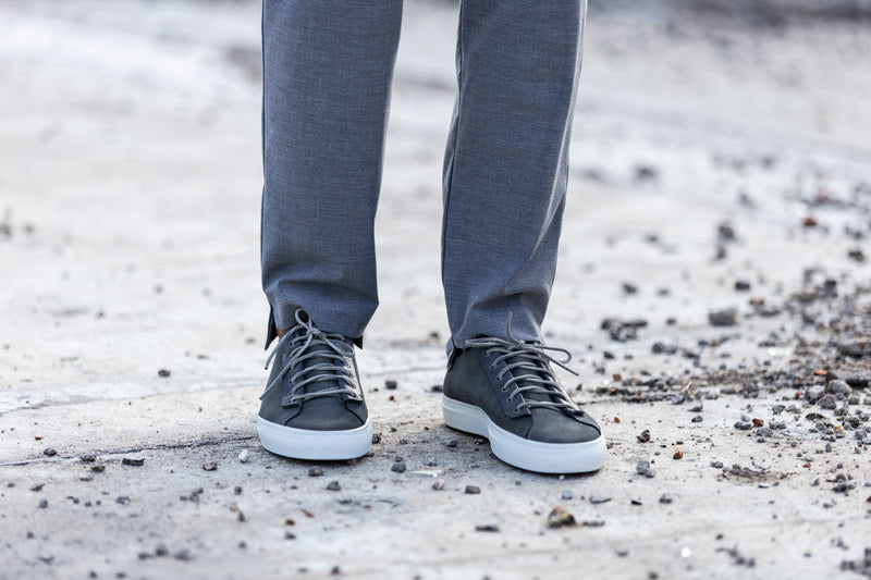 Phoenician Stone (dark grey) Low-Top