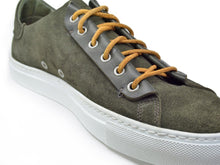 Load image into Gallery viewer, Hypnotic Yellow Phoenician Kaki (green) Low-Top