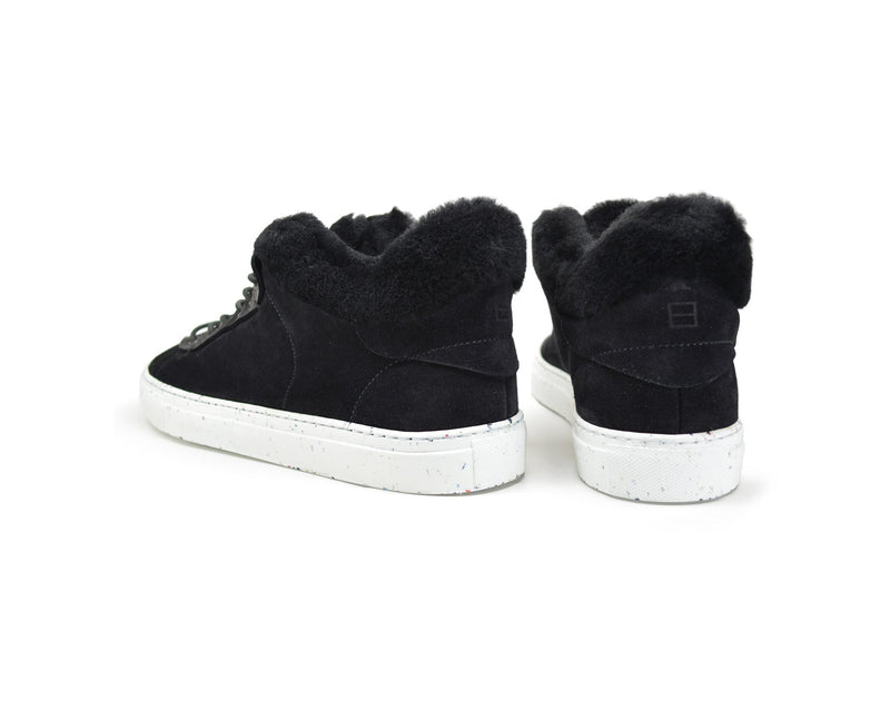 Leather high top sneakers with Margom sole
