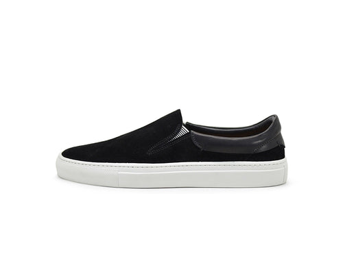 Hypnotic Yellow Phoenician Black Slip-On