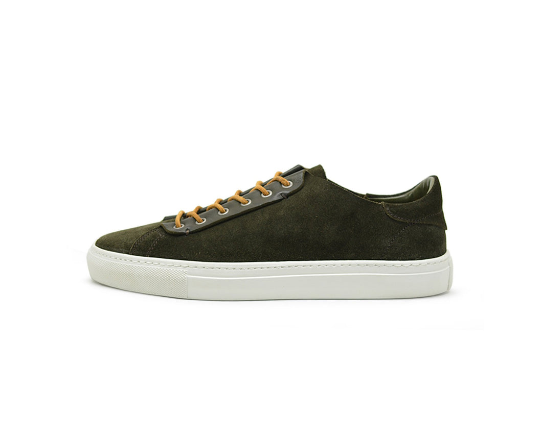 Hypnotic Yellow Phoenician Kaki (green) Low-Top