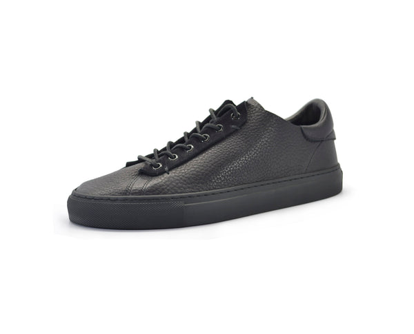 Reverse Phoenician All Black Low-Top