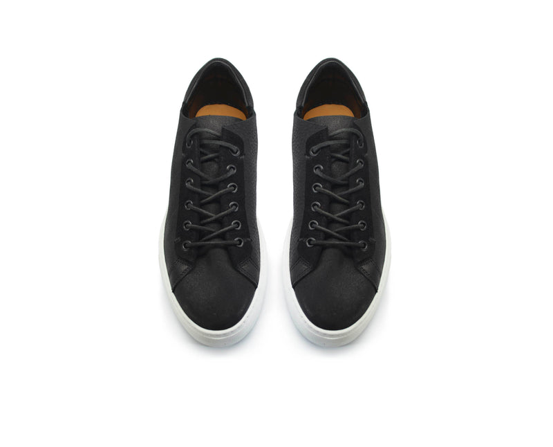 Reverse Phoenician Black Low-Top
