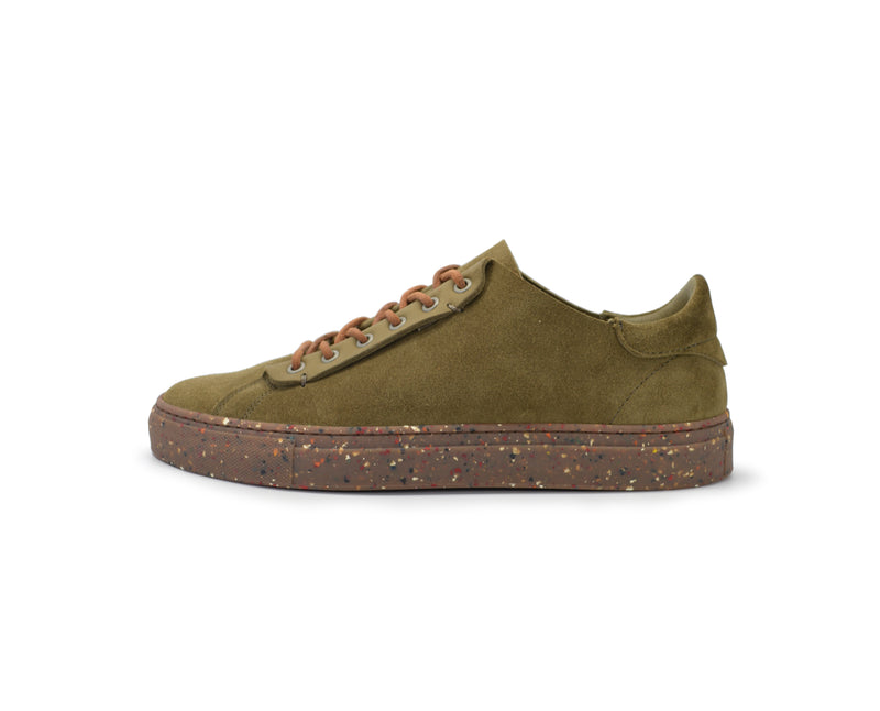 Phoenician Pigments - Eco Rubber Militare Low-Top
